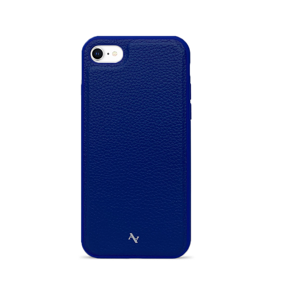 MAAD Classic - All Blue IPhone 7/8/SE Leather Case