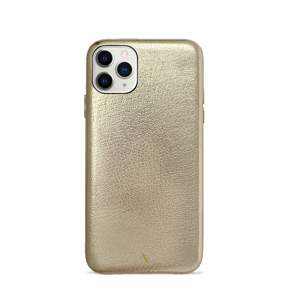 Pebble - Gold Metallic IPhone 11 Pro Max Case