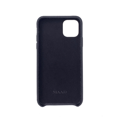 MAAD LVR Black IPhone 11 Pro Max Case - MAAD Collective - Saffiano IPhone Personalized Case
