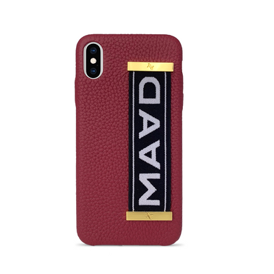 MAAD LVR Red IPhone XS MAX Case