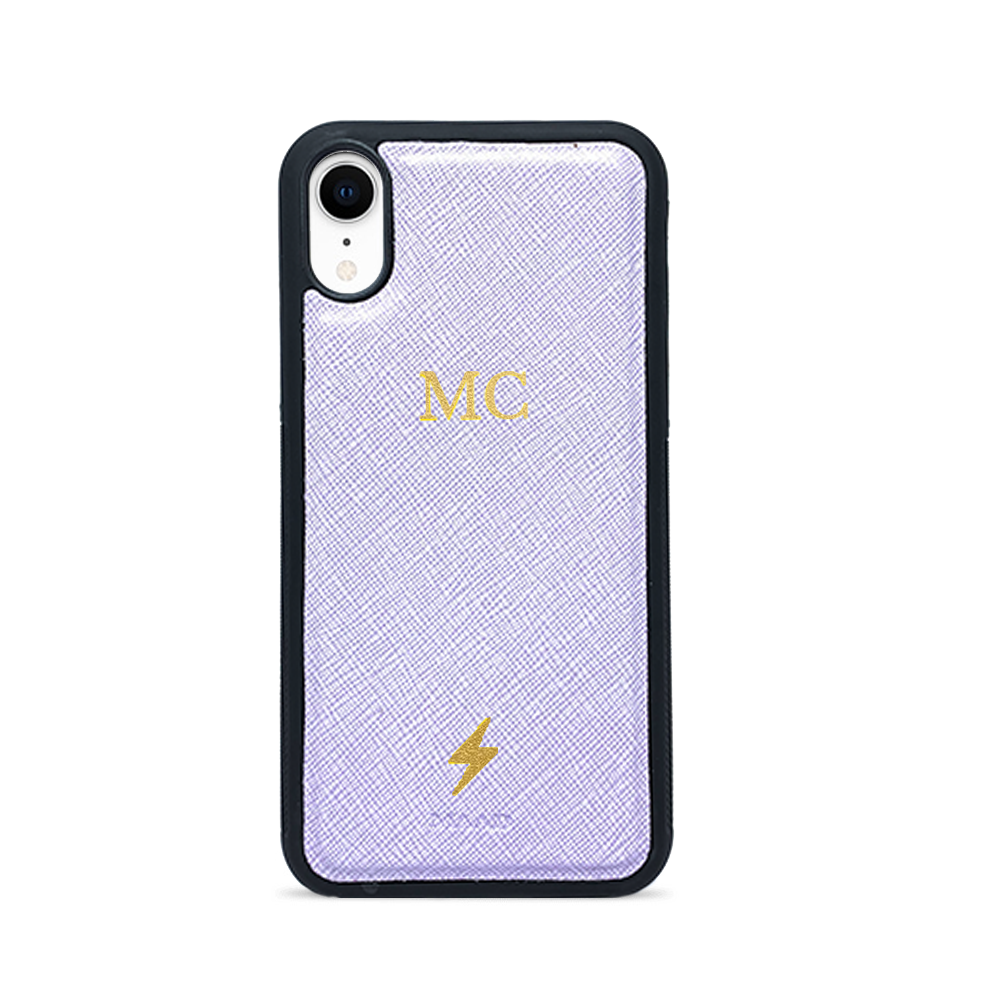 Saffiano - Lilac IPhone XR Case