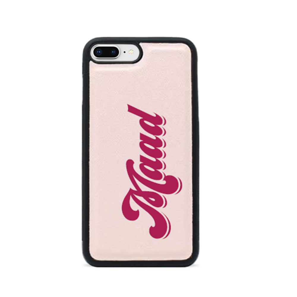 Saffiano - Nude IPhone 7/8 Plus Case