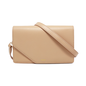 Match - Sandy Nude Asymmetric Crossbody