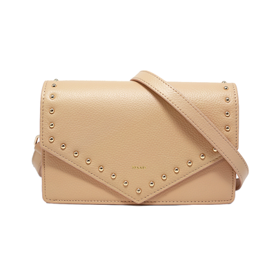 Match - Sandy Nude Studs Crossbody