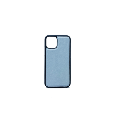 Baby Blue IPhone 11 Pro Case - MAAD Collective - Saffiano IPhone Personalized Case