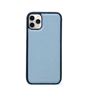Saffiano - Baby Blue IPhone 11 Pro Case