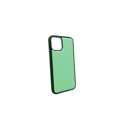 Mint IPhone 11 Pro Case - MAAD Collective - Saffiano IPhone Personalized Case