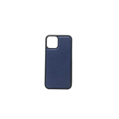 Navy Blue IPhone 11 Pro Case - MAAD Collective - Saffiano IPhone Personalized Case