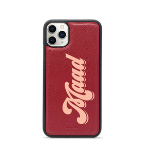 Saffiano - Red IPhone 11 Pro Case