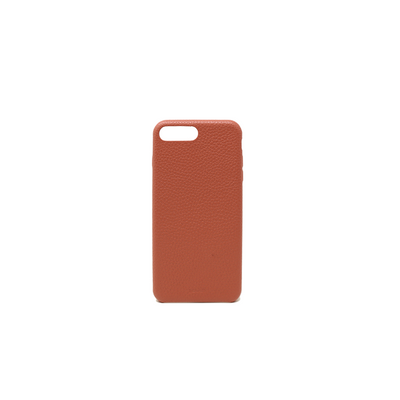Pebble - Terracotta IPhone 7/8 Plus Case - MAAD Collective - Saffiano IPhone Personalized Case