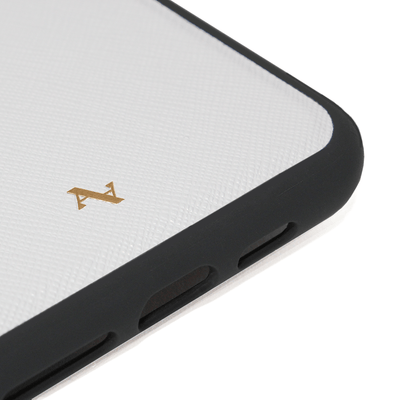 MAAD Classic - White IPhone X/XS Leather Case