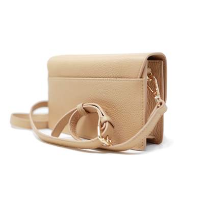 Match - Sandy Nude Quilted Crossbody