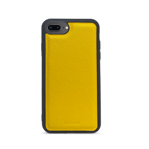 Saffiano - Yellow IPhone 7/8 Plus Case