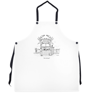 "Grilling Aprons - ""How's the burger?"""