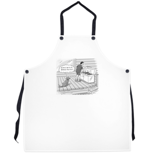 "Grilling Aprons - ""Bungle the flip!"""
