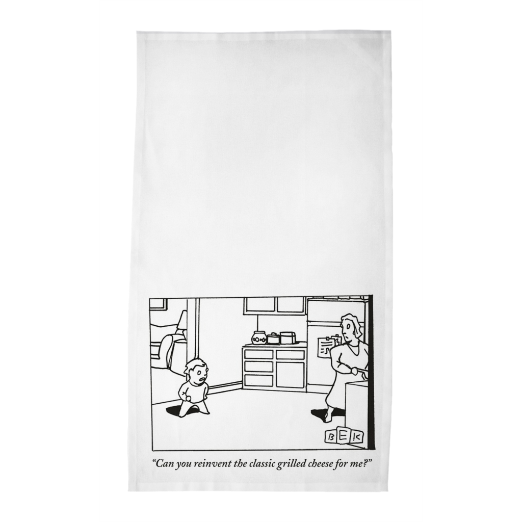 Bruce Eric Kaplan Tea Towels -