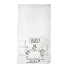 "Load image into Gallery viewer, Paul Noth Tea Towels - ""Mommelier"""