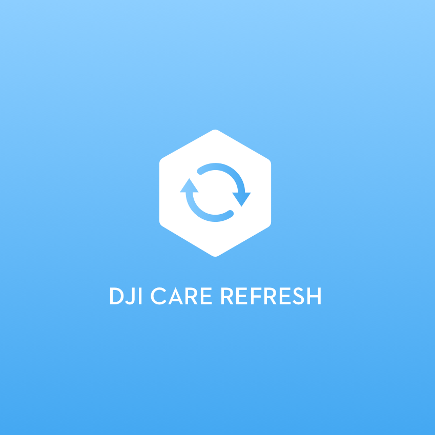 DJI Care Refresh (Zenmuse X7) 1-Year Drone Insurance Plan