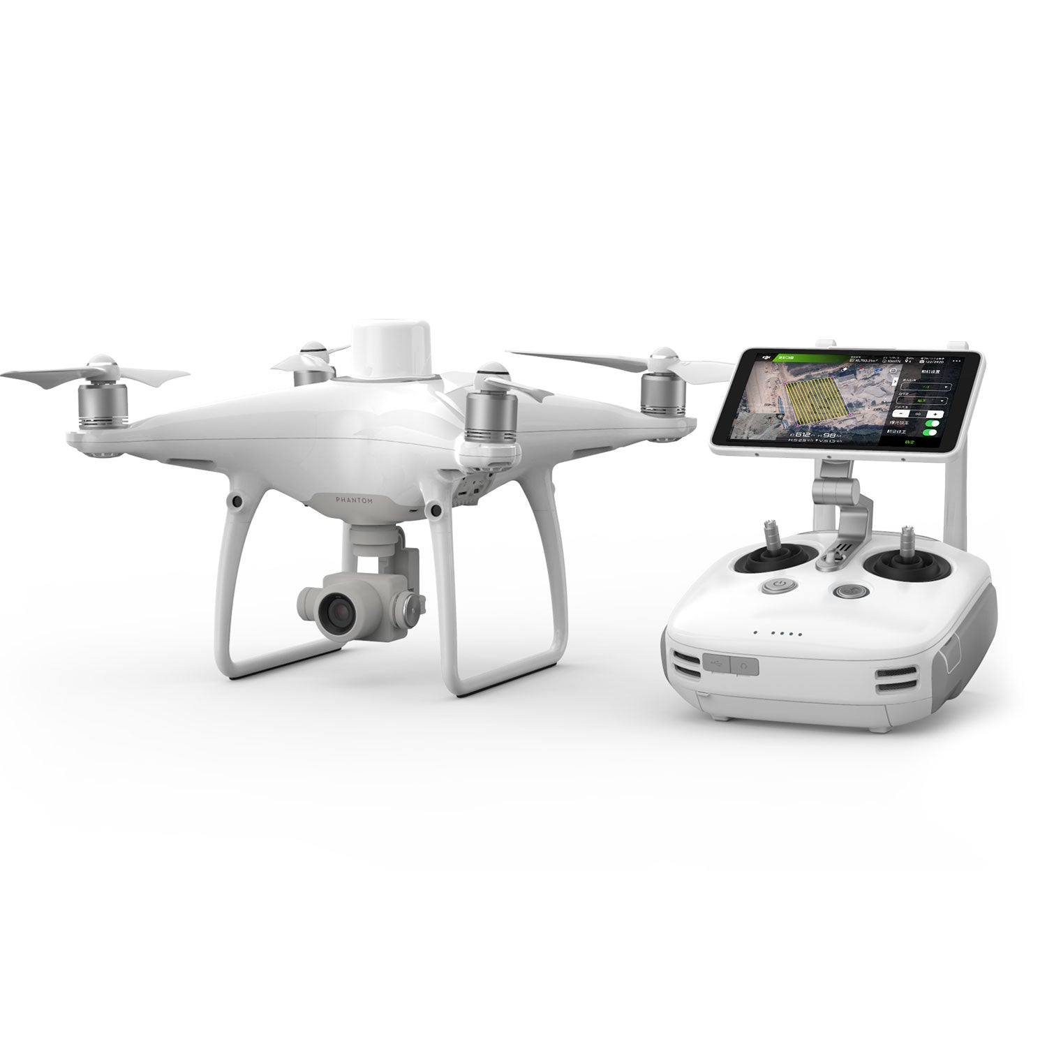 DJI Phantom 4 RTK with D-RTK 2 GNSS Mobile Station Combo