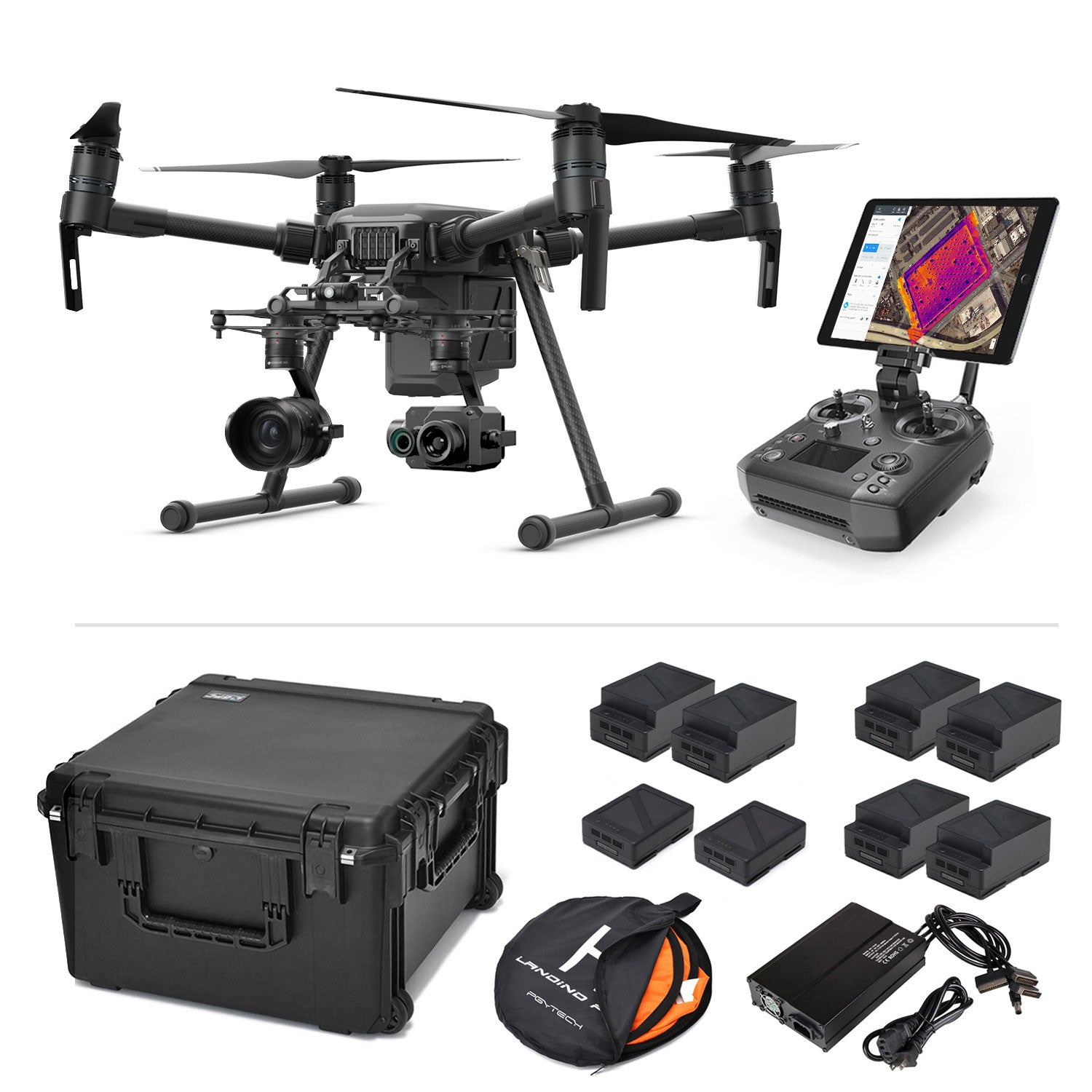 Survey Thermal Package - DJI Matrice 210 V2 with Zenmuse XT2 and X5S