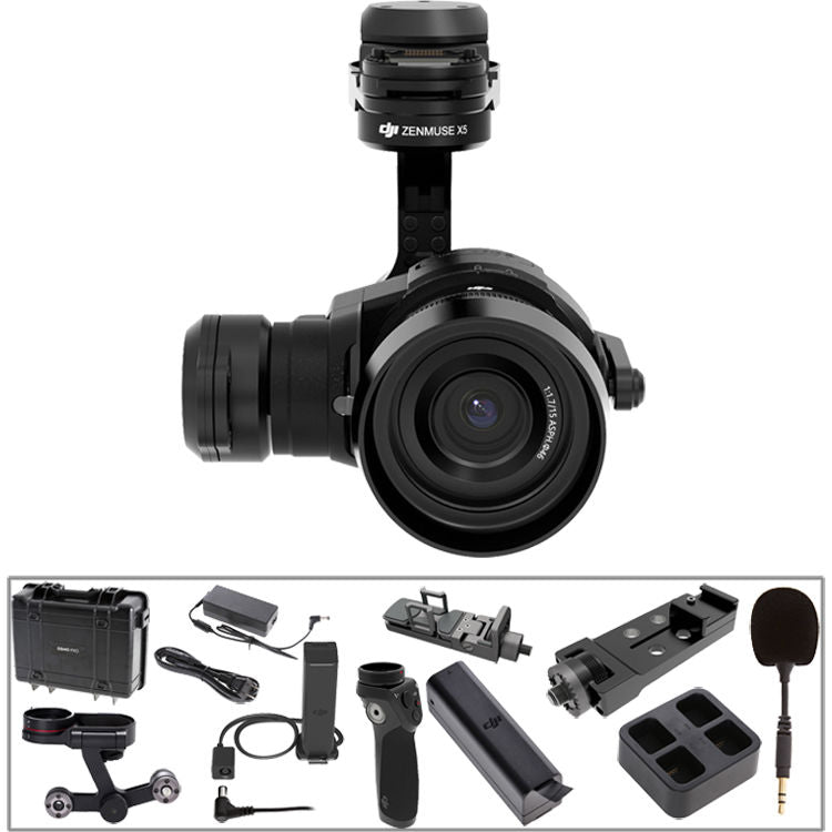 DJI Osmo Pro with Zenmuse X5 Handheld 4K Camera and 3-Axis Gimbal