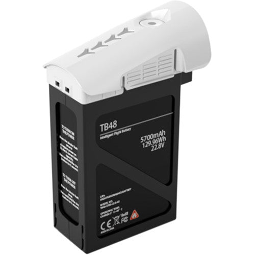 DJI Inspire 1 TB48 Intelligent Flight Battery (5700mAh, White)