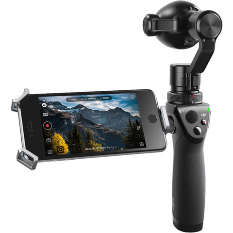 DJI Osmo Plus with 7x Zoom Handheld 4K Camera and 3-Axis Gimbal