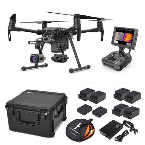 Inspection Thermal Package - DJI Matrice 210 with Zenmuse XT2 and Z30