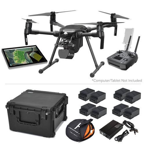Ag Pro Package - DJI Matrice 200 V2 with SlantRange 4P+ Multispectral Sensor