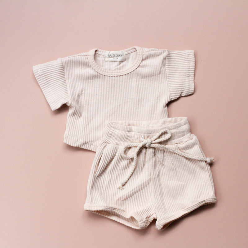 COCO sunday lounge wear set | natural cream