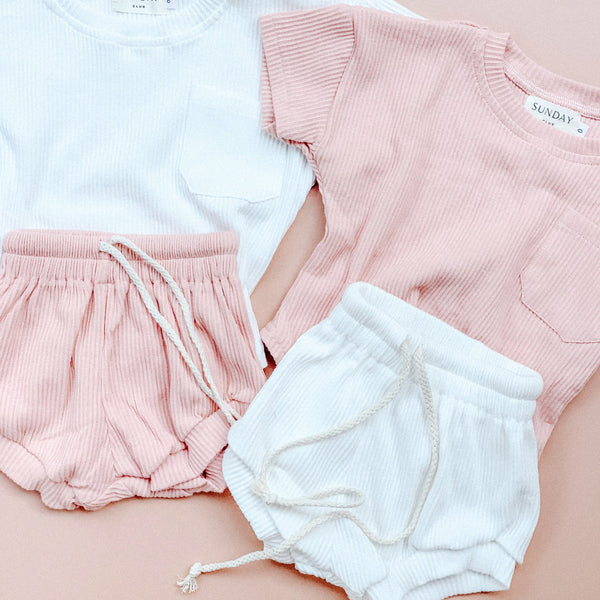 ALLURA PINK | lounge wear set