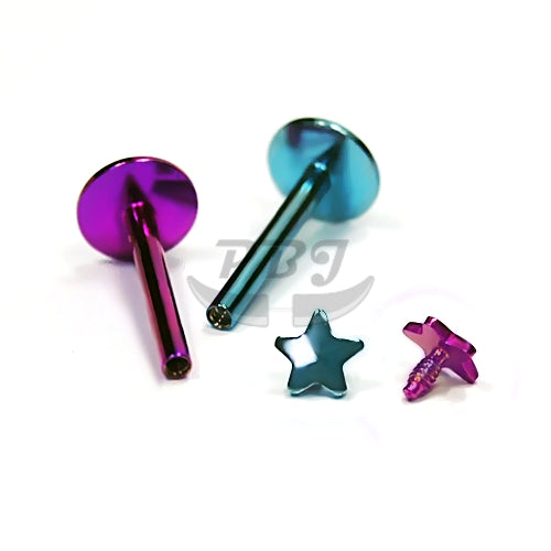 16G Star/Heart Monroe-Color Steel
