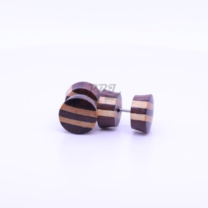 Narrow Strip Fake Plug-Wood