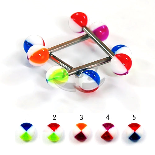Barbell #34, 4pcs/pack