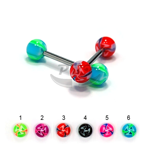Barbell #16, 4pcs/pack