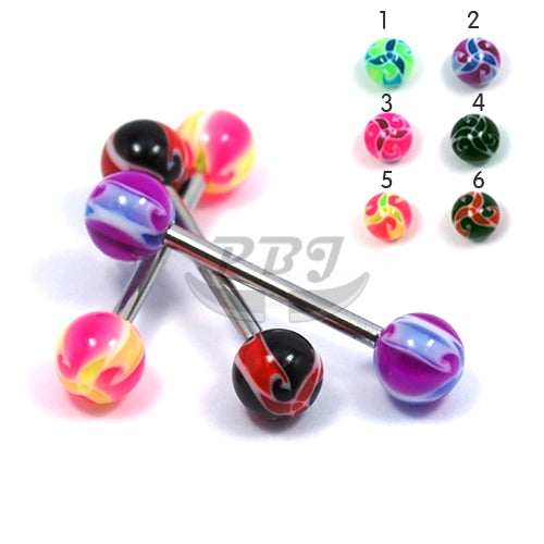 Barbell #26, 4pcs/pack