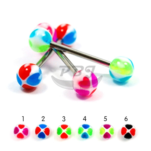 Barbell #18, 4pcs/pack