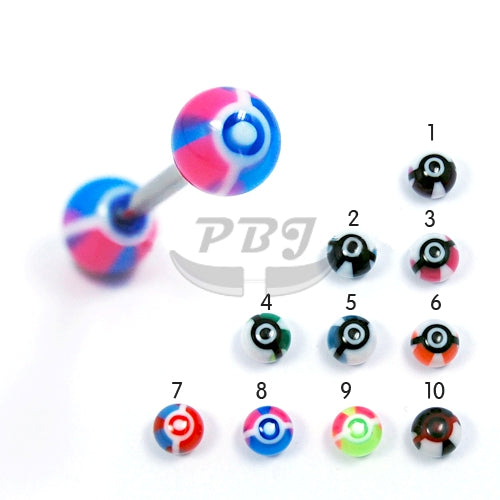 Barbell #32, 4pcs/pack