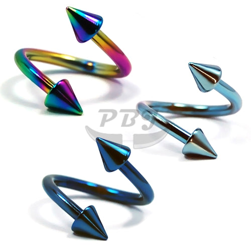 14G Cone Twister-Color Steel