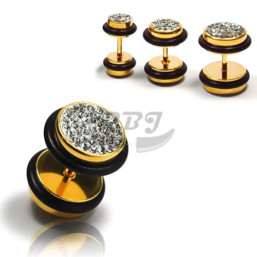 16G Feri Fake Plug-Gold Steel