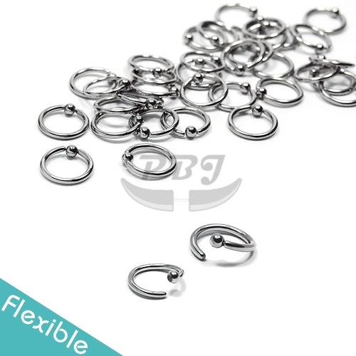 20G Ball Fixed Flexible 6pcs/pack Price- 316L S. Steel
