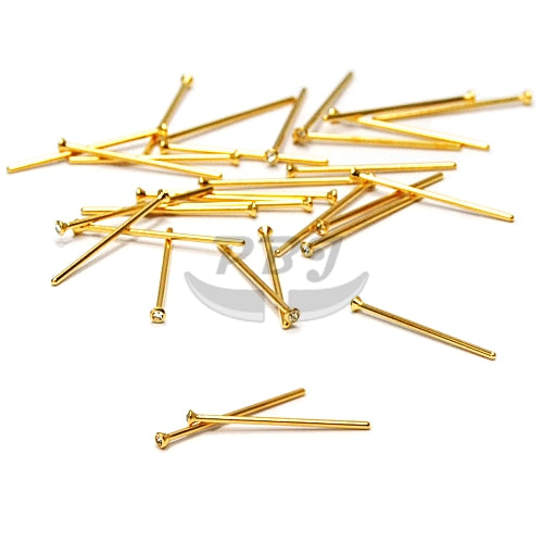 22G Gem Fishtail 6pcs/pack Price-Gold Steel