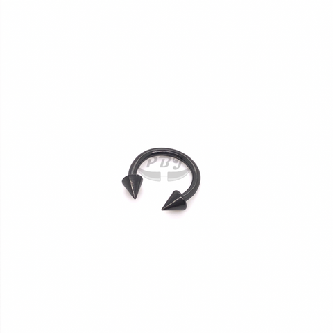 16G Cone HorseShoe(CBB)-Black Steel