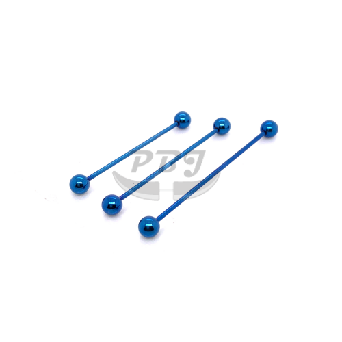 16G Industrial Barbell Blue-Color Steel