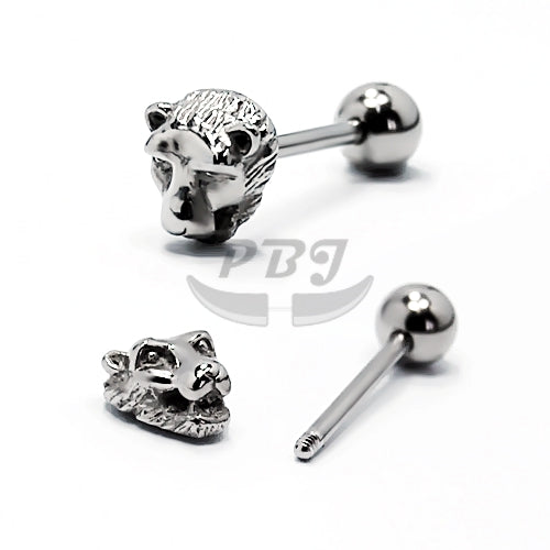 14G Barbell Casting Shape, 2pcs/pack Price-316L S. Steel