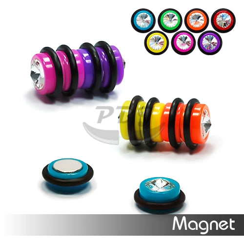 UV Fake-82 Magnetic Gem, 4pcs/pack