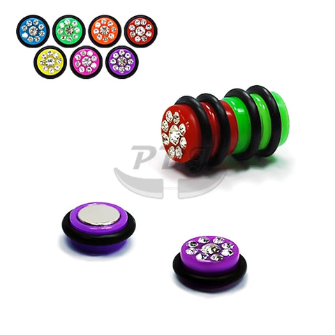 UV Fake-83 Magnetic Multi Gem, 4pcs/pack