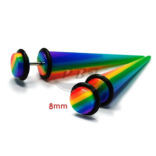 UV Fake-55 Expander Rainbow 16G, 4pcs/pack