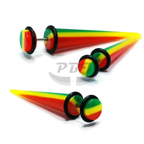 UV Fake-53 Expander Rasta 16G, 4pcs/pack