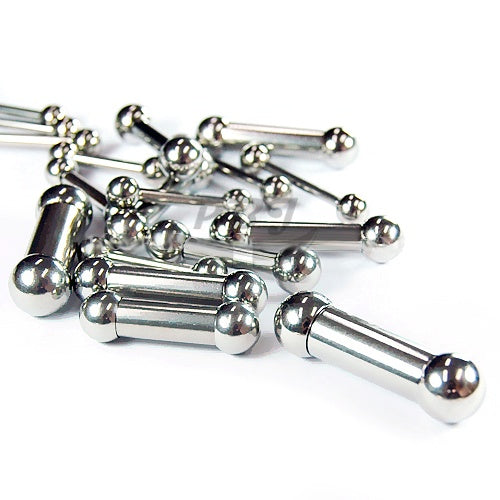 10G Barbell, 2pcs/pack Price-316L S. Steel